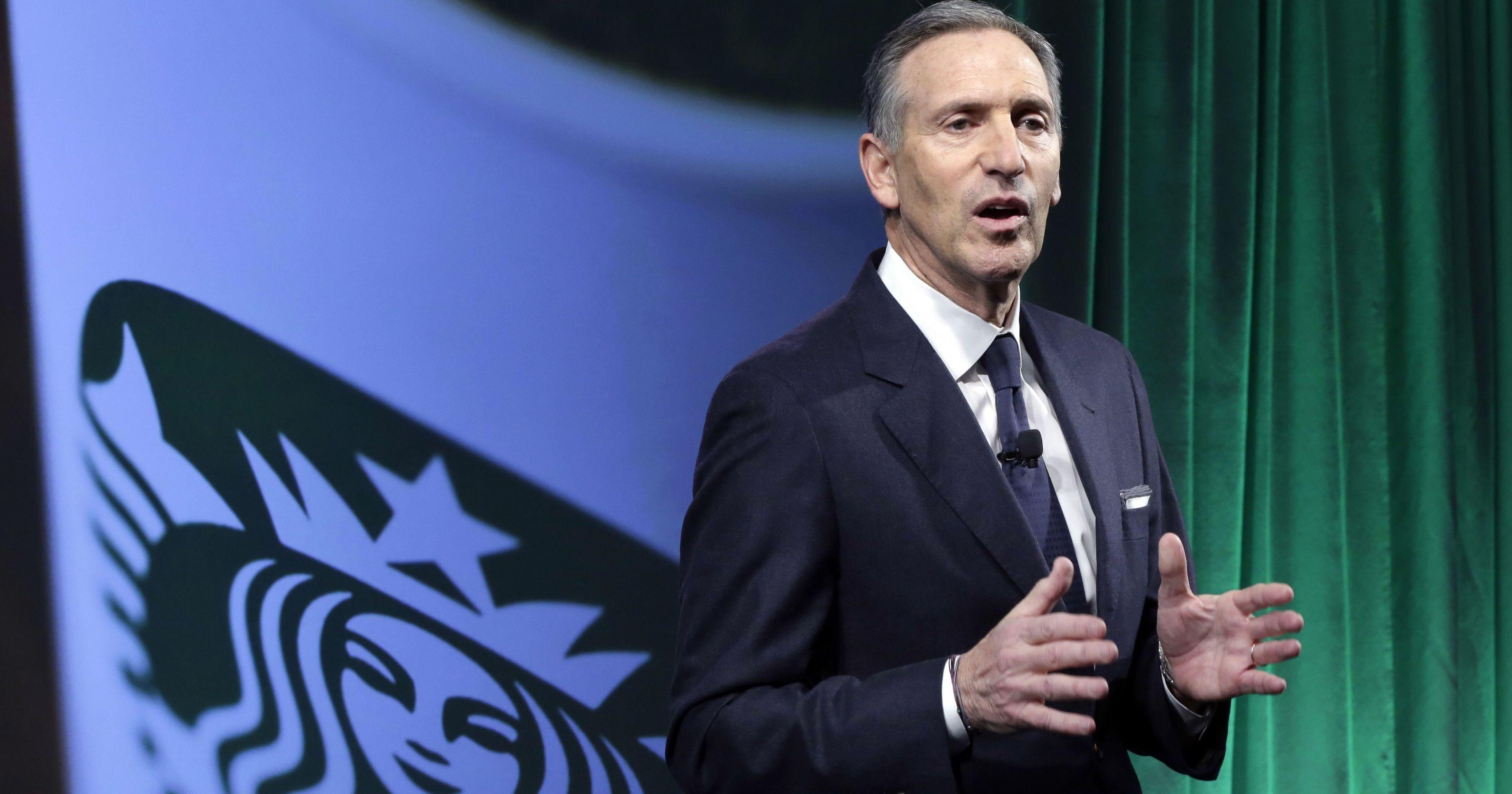 Howard Schultz: Democrats worry about ex-Starbucks CEO's bid