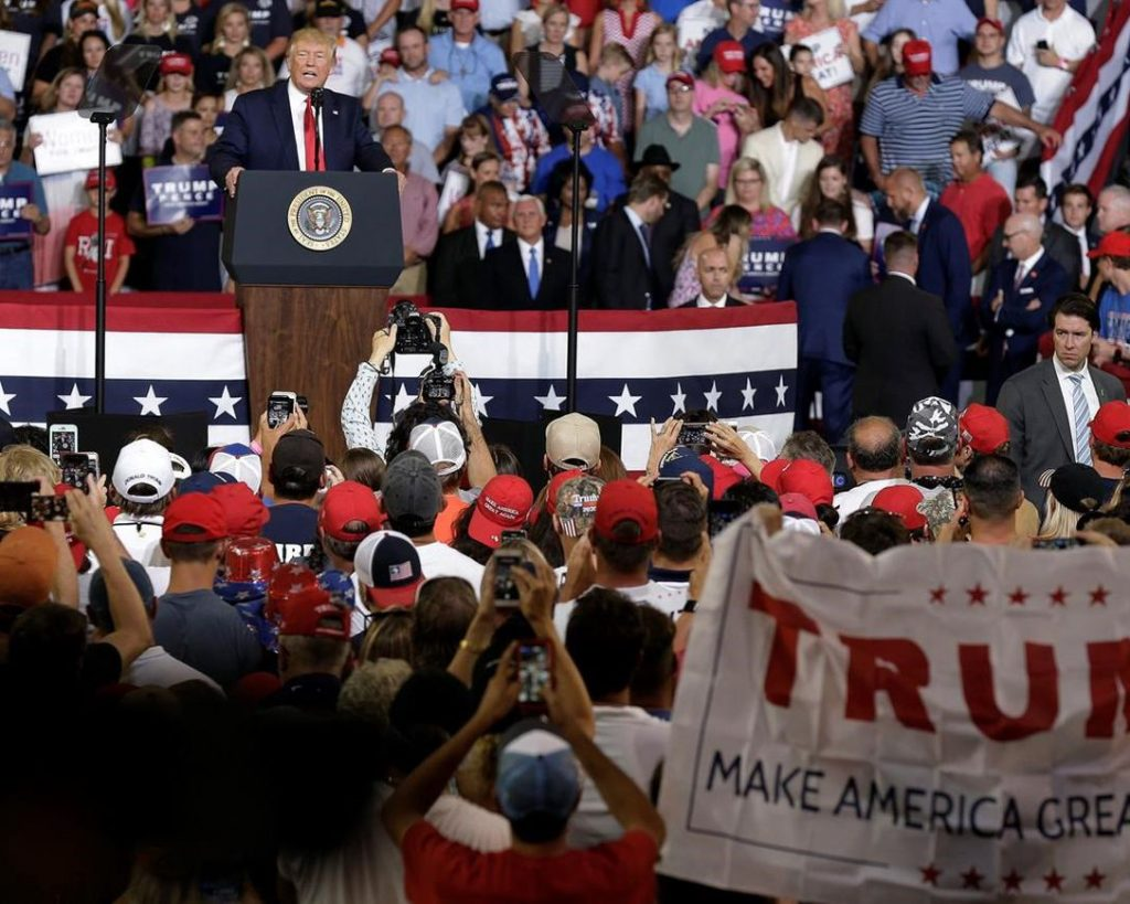 Trump Falsely Claims He Tried To Stop 'Send Her Back ...